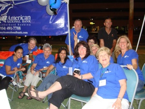 The ANB Team at the 2010 ACS Relay for Life