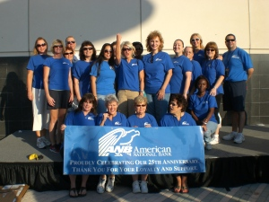 The ANB team at the 2010 Step Out Walk for Diabetes