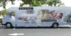 Community Blood Centers of South Florida Blood Bus