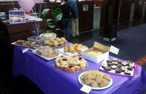 ANB Bake Sale for the American Cancer Society
