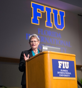 FIU -Ginger Keynote Speaker Leadership Program Graduation 1