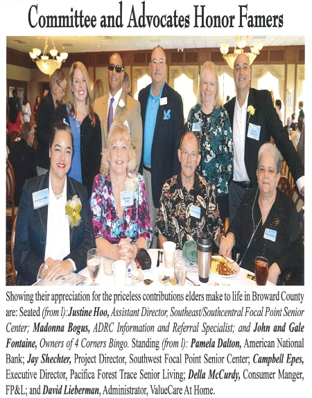 Pam Dalton - Senior Hall of Fame Breakfast 5.6.16